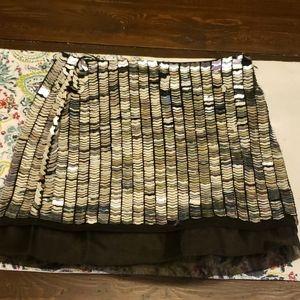 TopShop metalic sequin? Skirt